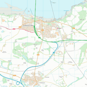 OS VectorMap District Raster - sample image
