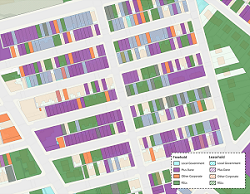 HM Land Registry estate mapping data