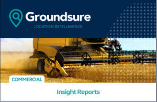 Groundsure Commercial Search report cover