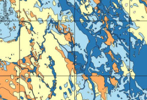 BGS Permeability data map