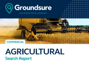 Groundsure Agricultural Search Report cover