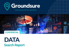 Groundsure  Data Search Report cover