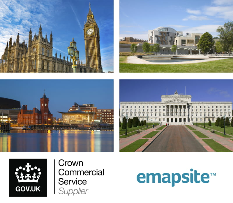 Photo grid of parliament in England, Scotland, Wales & Northern Ireland